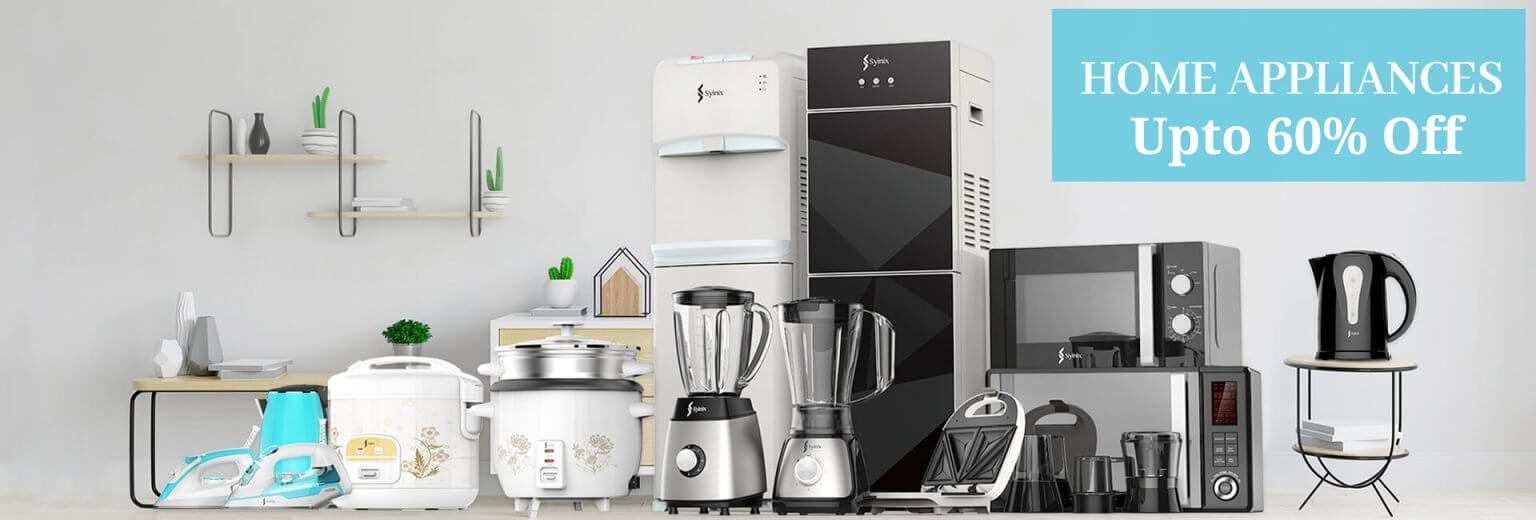 Buy Home Appliances online at lowest price only at Digital Arcade - Upto 60% Off