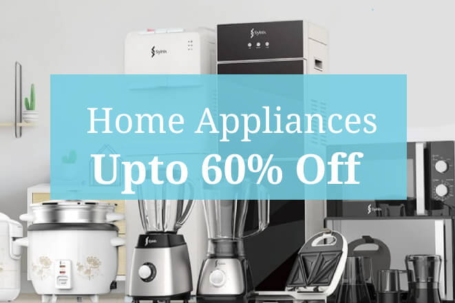 Buy Home Appliances online at lowest price - Upto 60% Off - Only at Digital Arcade