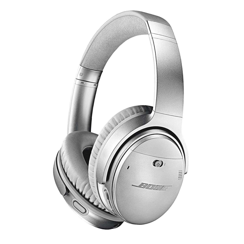 Bose QuietComfort 35 II Wireless Bluetooth Headphones, Noise-Cancelling, with Alexa voice control – White
